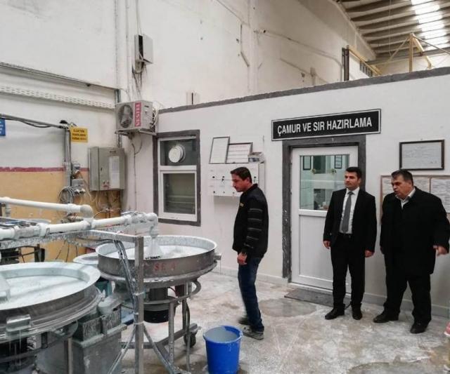 Kaymakam Karakurt'tan Dünya markasına ziyaret